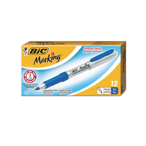 BIC Mark-It Ultra Fine Permanent Markers