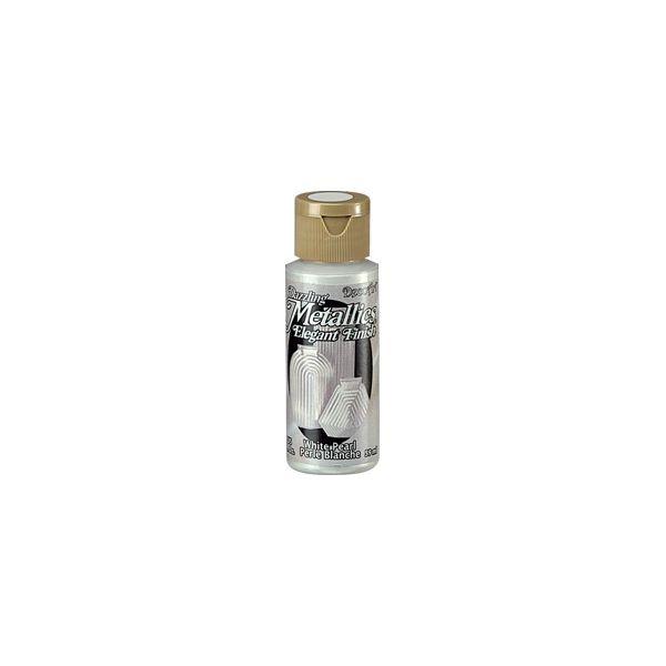 Deco Art Dazzling Metallics Elegant Finish White Pearl Acrylic Paint