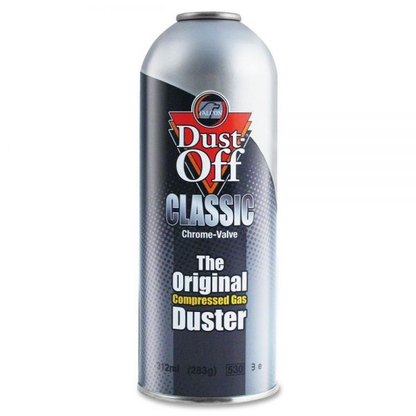 Dust-Off Canned Air Compressed Gas Classic Duster Refill