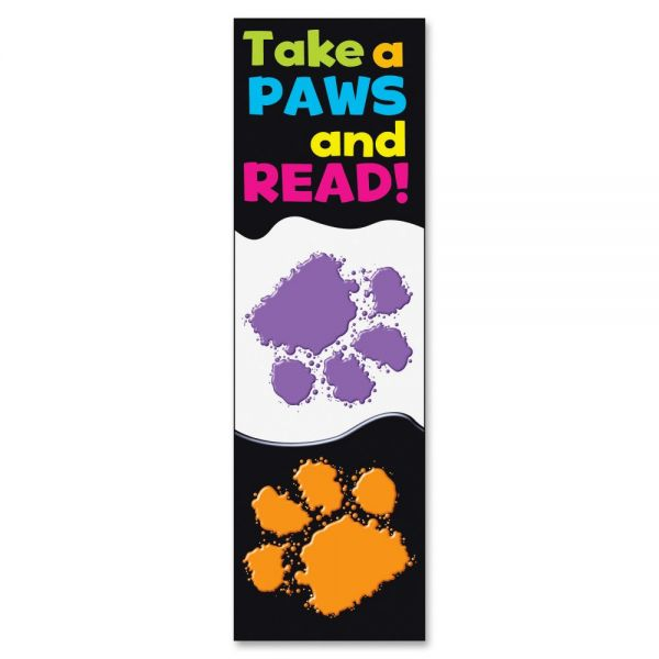 Trend Take a Paws and Read! Bookmarks