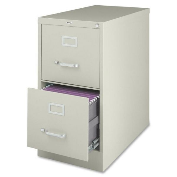 Lorell 2 Drawer Vertical File Cabinet