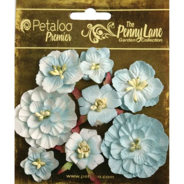 "Penny Lane Mixed Blossoms 1"" To 1.75"" 8/Pkg"