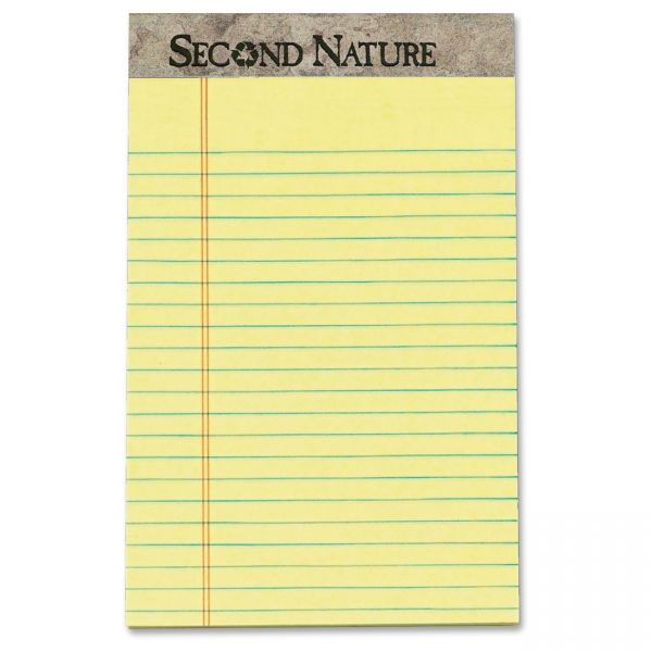 Second Nature Recycled Junior Legal Pads