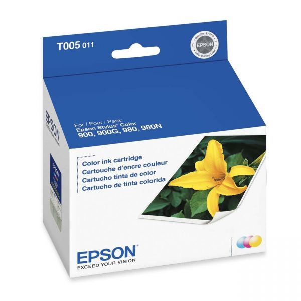 Epson T005 Tri-Color Ink Cartridge