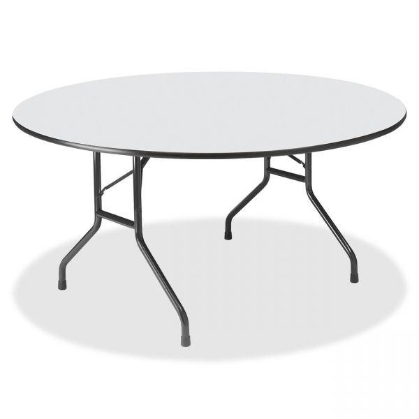 Iceberg Wood Laminate Round Folding Table