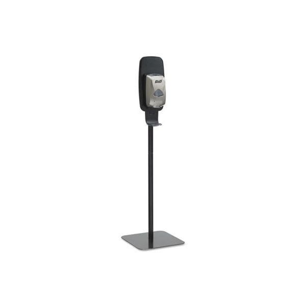 PURELL LTX or TFX Touch-Free Dispenser Floor Stand, Black, 23 3/4 x 16 3/5 x 5 29/100