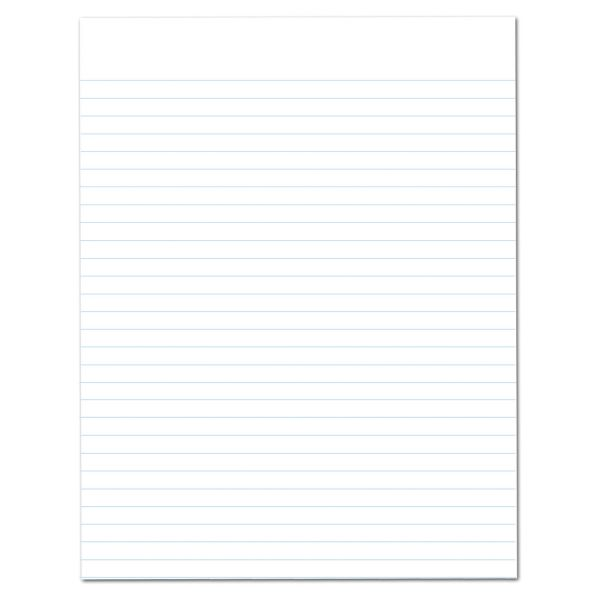 Ampad Evidence Recycled Letter-Size White Legal Pads