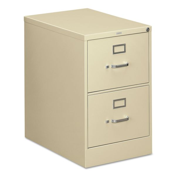 HON 310 Series 2 Drawer Locking Vertical File Cabinet