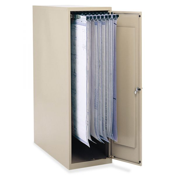 Safco Large Enclosed Vertical File Cabinet