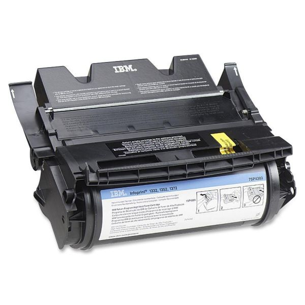 InfoPrint 75P4305 Black Toner Cartridge
