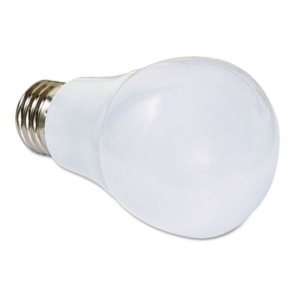 Verbatim LED A19 Warm White Non-Dimmable Bulb, 485 Im, 7 W, 120 V
