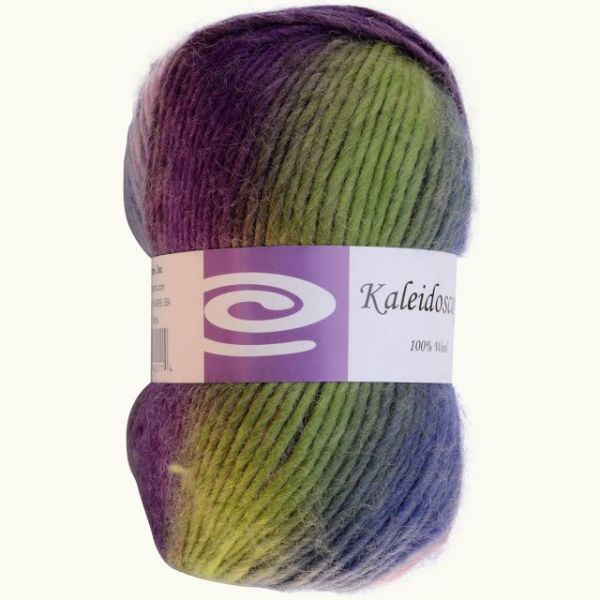 Elegant Kaleidoscope Yarn - Berry Fields