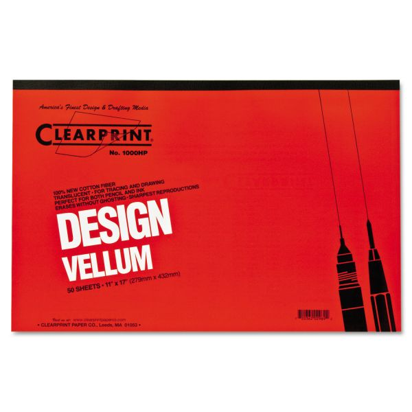 Clearprint ClearPrint Design Vellum Pad - Tabloid