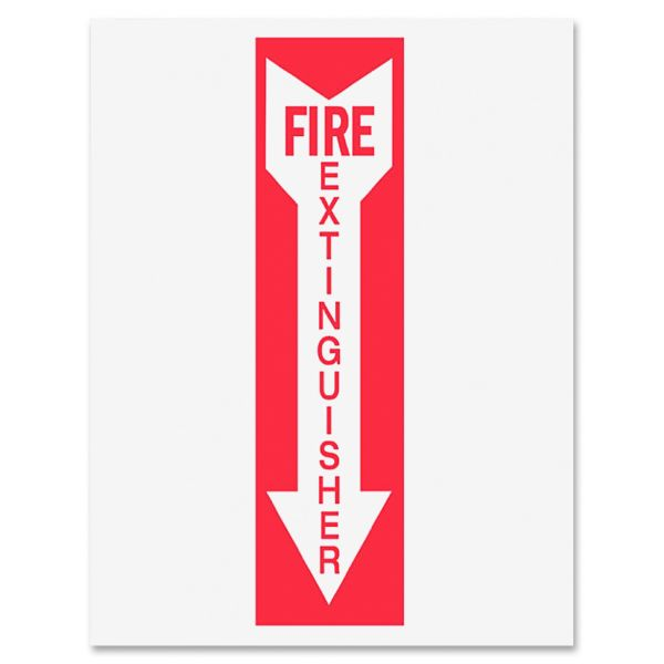 Tarifold Safety Sign Inserts-Fire Extinguisher