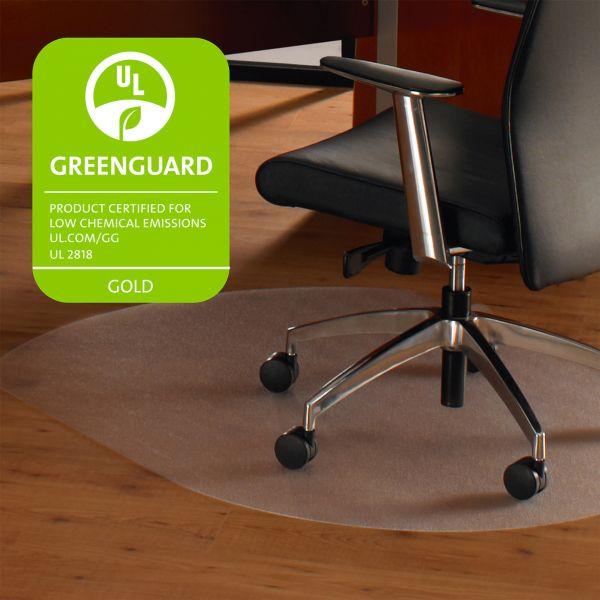 Cleartex Contoured Hard Floor Chair Mat