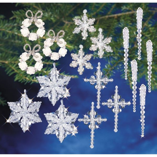 Holiday Beaded Ornament Kit Collection