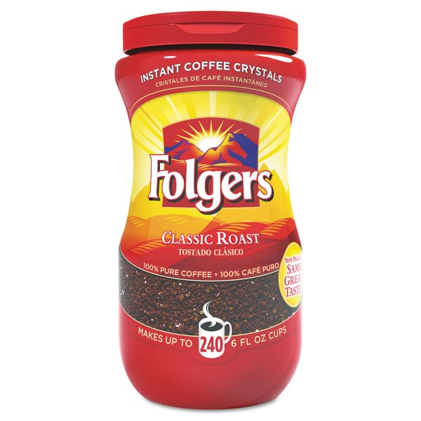 Folgers Instant Coffee Crystals (1 lb)