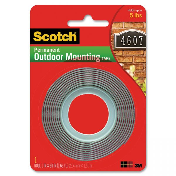 3M Scotch 4011 Exterior Mounting Tape