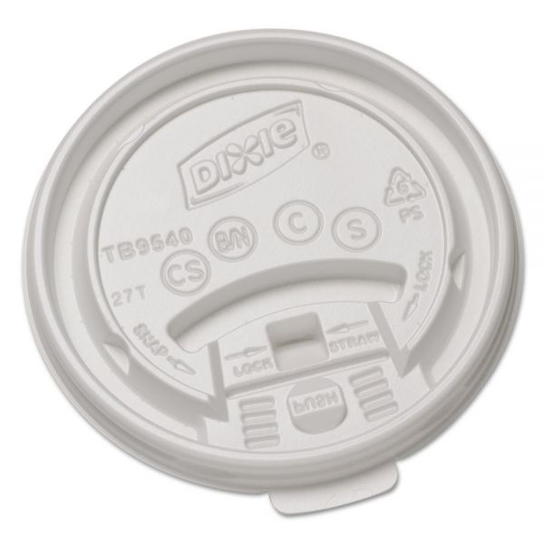 Dixie Tear Back & Lock Coffee Cup Lids