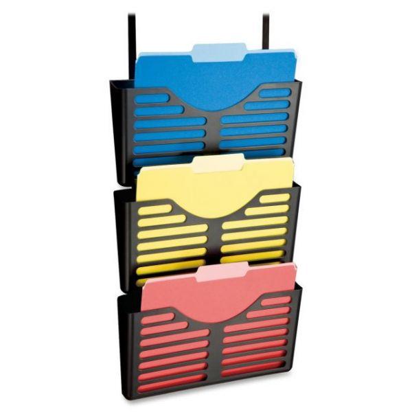 Lorell Plastic Hanging Wall File Pockets