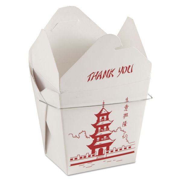 GW Chinese Food Boxes with Handles