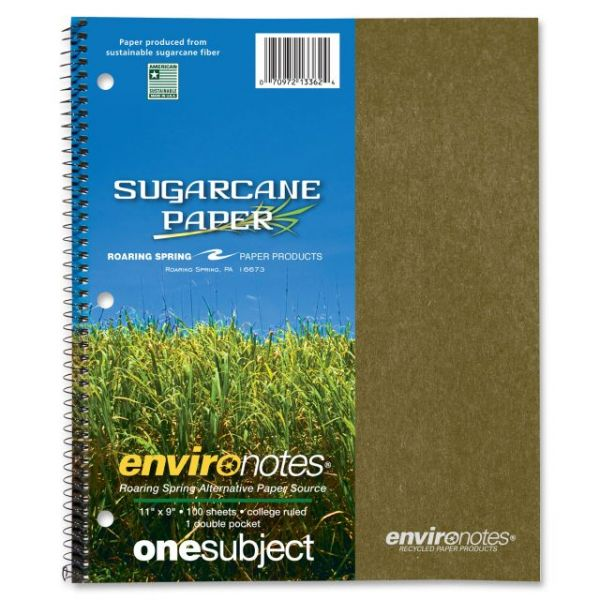 Environotes Recycled 1-Subject Notebook