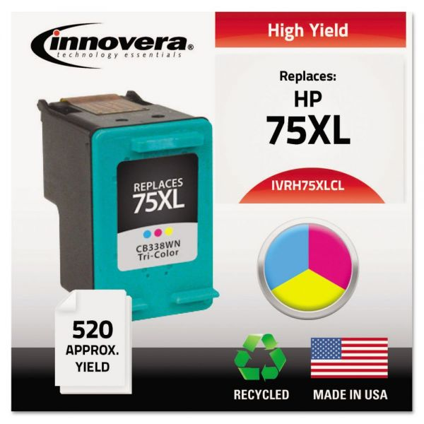 Innovera Remanufactured HP 75XL High Yield Ink Cartridge