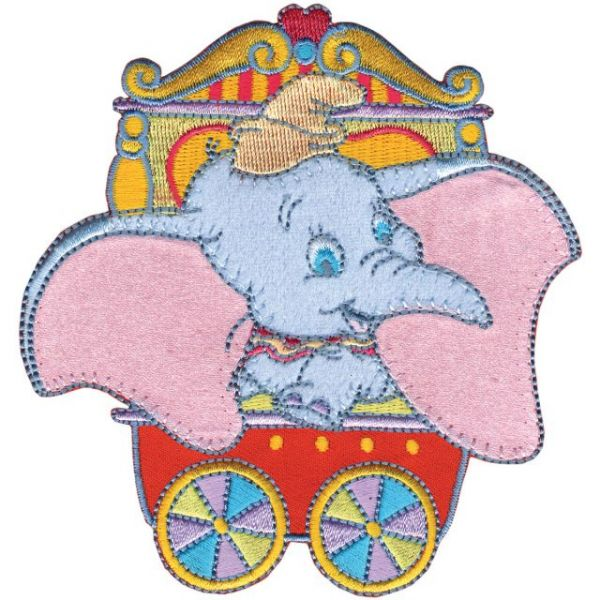 Disney Dumbo Iron-On Applique