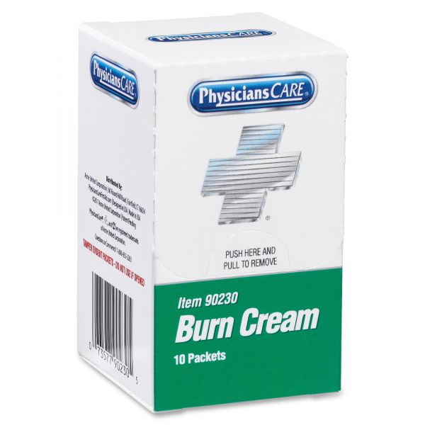 PhysiciansCare Burn Cream Packets