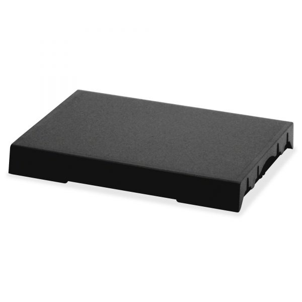 Identity Group Trodat T4727 Dater Replacement Pad, 1 5/8 x 2 1/2, Black