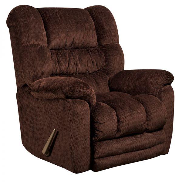 Flash Furniture Contemporary Temptation Mahogany Microfiber Rocker Recliner