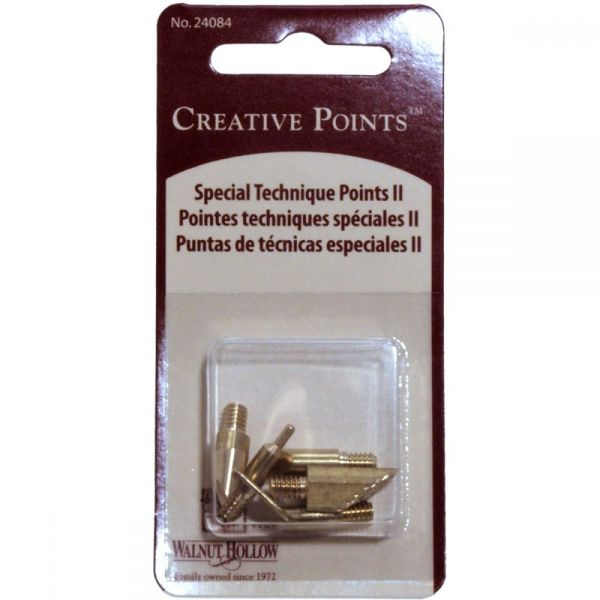 Creative Woodburning Special Technique Points II 5/Pkg
