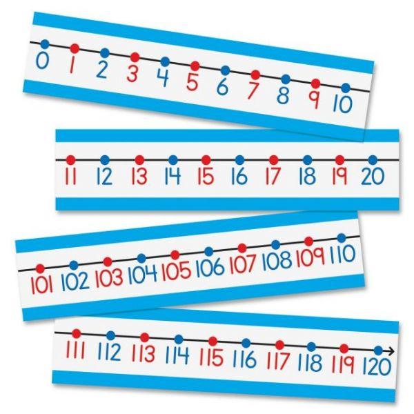 Carson-Dellosa PreK- Grade 2 Number Line Bulletin Brd Set