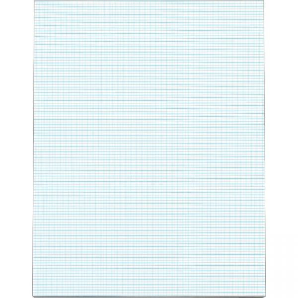 TOPS White Quadrille Pads - Letter