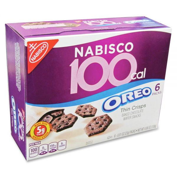 Nabisco 100-Cal Oreo Thin Crisps Snack Packs