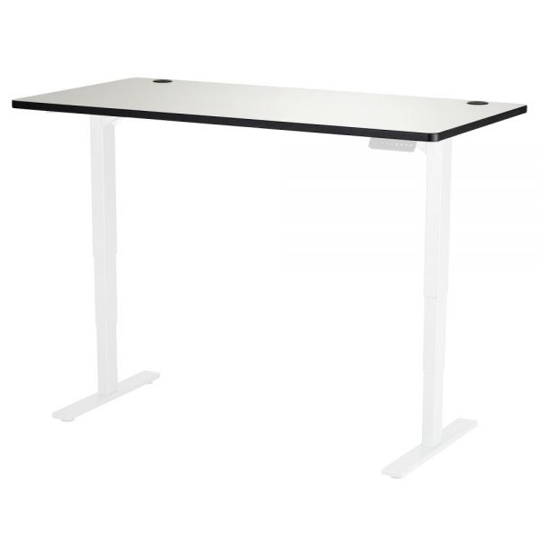 Safco Gray Lam. Electric Ht-adj. Table Tabletop