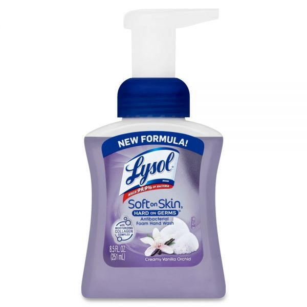Lysol Touch of Foam Antibacterial Hand Soap