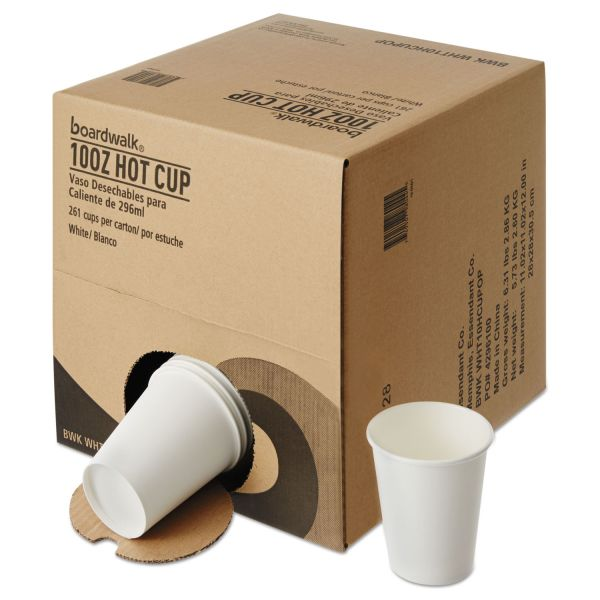 Boardwalk Convenience Pack 10 oz Paper Coffee Cups