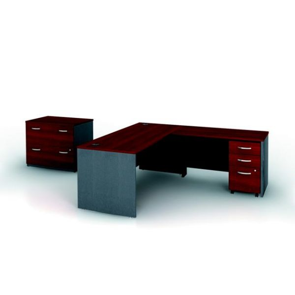 bbf Series C Professional Configuration - Hansen Cherry finish by Bush Furniture