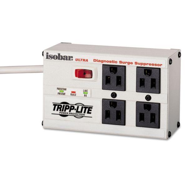 Tripp Lite Isobar premium surge suppressor, 4 outlets