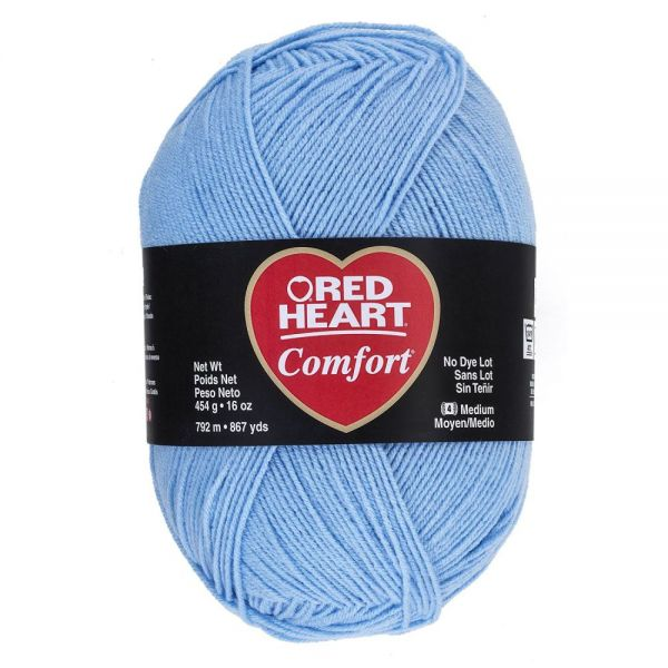 Red Heart Comfort Yarn - Baby Blue