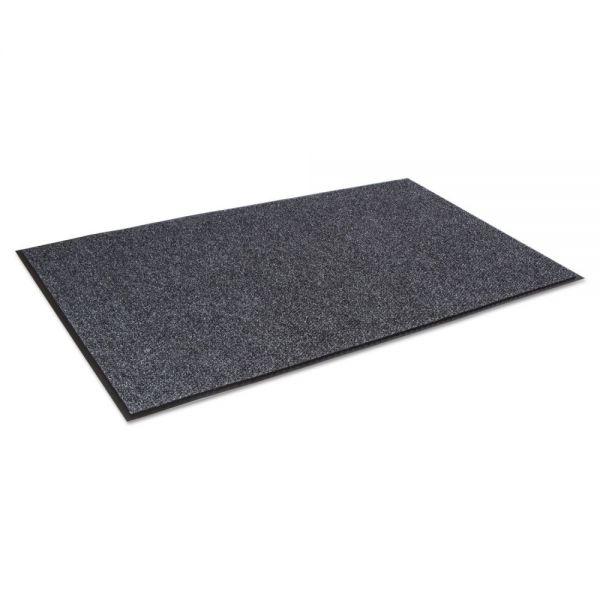 Crown Marathon Wiper/Scraper Mat, Polypropylene/Vinyl, 36 x 120, Anthracite