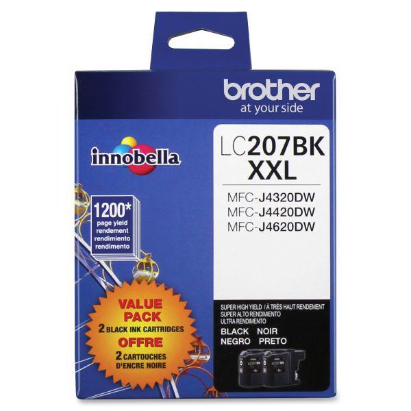 Brother Innobella LC2072PKS Super High-Yield Black Ink Cartridges