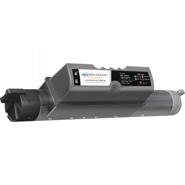 Media Sciences MS511KHC Remanufactured 310-7889 (GD898) High-Yield Toner, Black