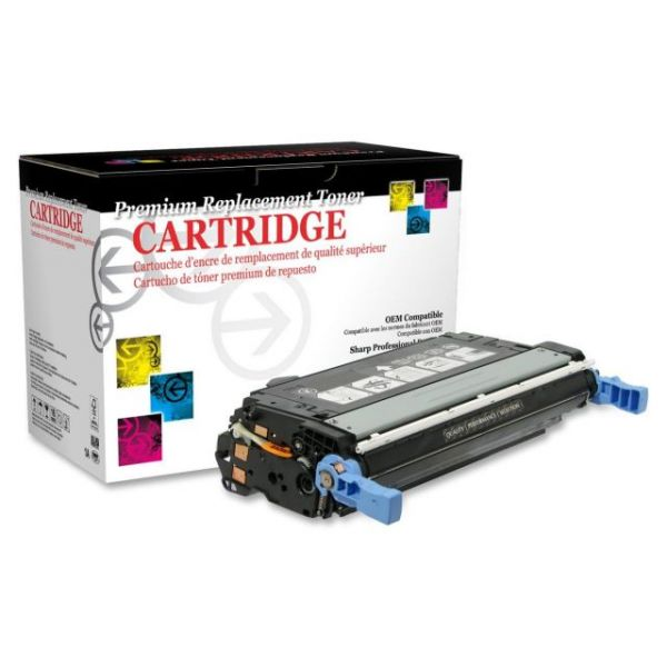 West Point Products Remanufactured HP CB400A Black Toner Cartridge