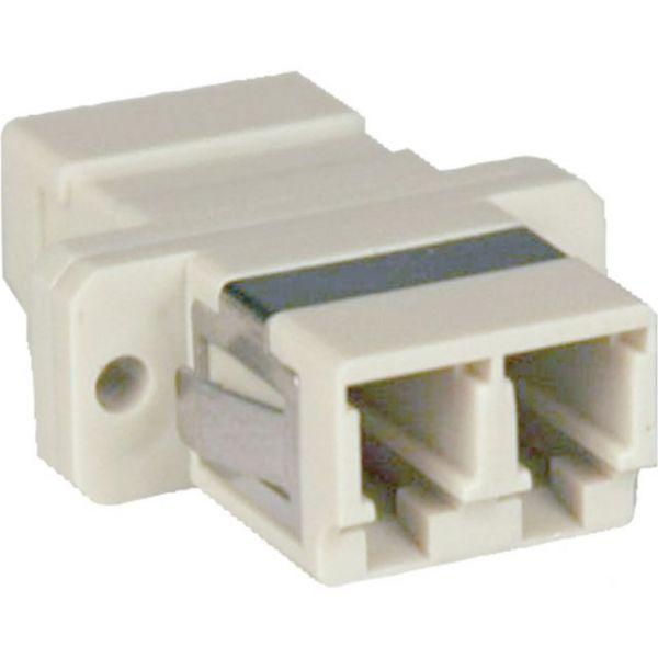 Tripp Lite Duplex Fiber Optic MMF / SMF Multimode Singlemode Coupler LC/LC