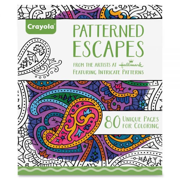 Crayola Patterned Escapes Coloring Book