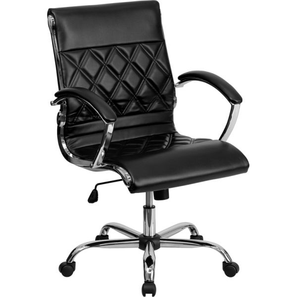 Flash Furniture Mid-Back Designer Executive Swivel Office Chair
