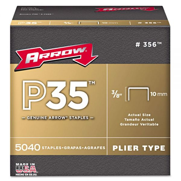 Arrow P35 Type Staples, 3/8""