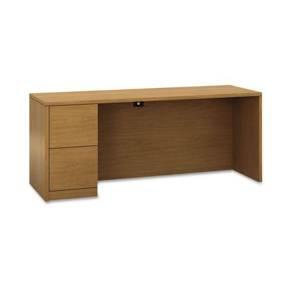 "HON 10500 Series Left Pedestal Credenza | 2 File Drawers | 72""W"